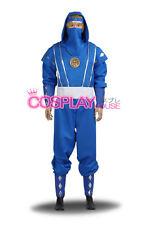 Mighty Morphin Power Rangers: The Movie -- Blue Ninjetti Ranger Cosplay Costume