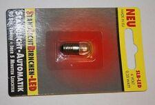 Standlicht Automatik für Fahrrad Rücklicht hinten mit E10 LED Birne