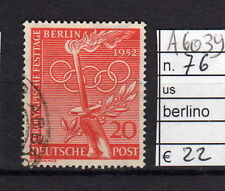 FRANCOBOLLI GERMANIA BERLINO USATI N°76 (A6039)