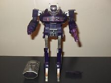transformers g1 original vintage shockwave 100% complete electronics work