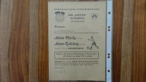 DDR Programm Motor Radeberg - Motor Niesky 08.04.1956