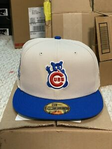 NEW Hat Club Exclusive Chicago Cubs 1990 All Star Patch 59Fifty Stone Royal UV