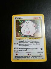 Wizards of the Coast Chansey 3/102 Pokemon Card - Nm/Lp