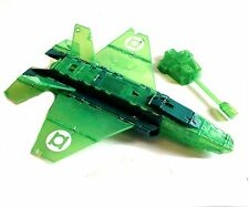 "DC Comics Transformable GREEN LANTERN Jet vehicle for 4"" figure, batman, justice"