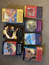 Rare And Signed Harry Potter Full Series Book Collection First Editions Misprint