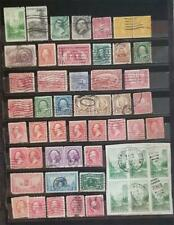 US Early Vintage Stamp Lot Used F1037