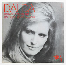 MINT DALIDA Ballade a temps perdu french 1969 PROMO BIEM barclay 61224 RED SP