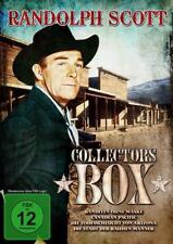 DVD Randolph Scott Collectors Box (2013) 4 Filme - Banditen ohne Maske