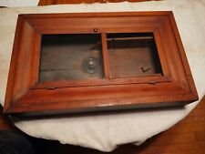 Circa 1880's Seth Thomas O.G. weight driven clock case ogee