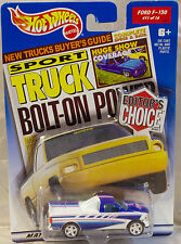 Hot Wheels Editors Choice Ford F-150 2000