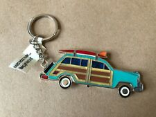 Hard Rock Park Myrtle Beach collectible blinking light up woody car keychain