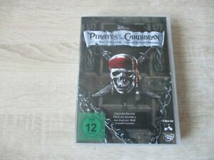 Fluch der Karibik - Pirates Of The Caribbean Quadrologie 4 DVDs 1-4