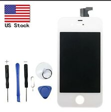 White Replacement LCD Touch Screen Glass Digitizer Assembly for iPhone 4 CDMA US