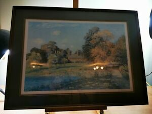 Robert Richardson 'the Old School & Cottages, Arley' Limited Print