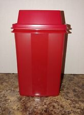 TUPPERWARE PICK A DELI CONTAINER - RED - LIFT UP STRAINER - Pickles - NIP