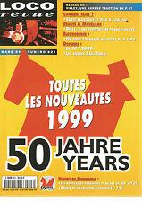 LOCO REVUE N°623 RESEAU HO : VILLEY/CARTE PLASTIQUE ET PIED A COULISSE/CC 7200