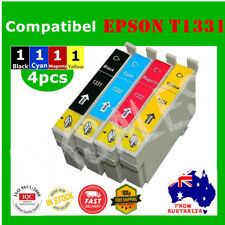 4x T133 T1331 1331 ink cartridgeS For Epson Stylus NX125 NX420 N11 TX125