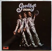 THE CREAM ⚠️Original Vinyl LP 1969⚠️    Goodbye Cream - 184203-Polydor-Germany