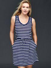 Gap sleeveless linen tie waist dress, Navy Sz XL (1141B8)