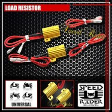 25W LOAD RESISTOR LED TURN SIGNAL INDICATORS HEAD TAIL LIGHT FLASHER UNIVERSAL