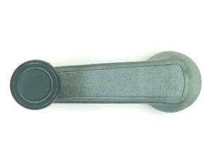 Honda Acura Handle Manual Crank Door Window Glass Moving Inside Knob Green OEM