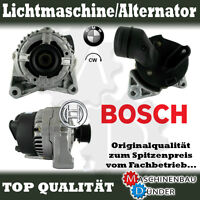 BMW 3 5 7 X5 Z3 LICHTMASCHINE ALTERNATOR ORIGINAL BOSCH V14 80A !