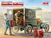 ICM 24019 - 1/24 Gasoline Delivery, Model T 1912 Delivery Car , scale model kit
