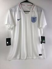 Nike Breathe England 2018 Womens Size Xl Home Soccer Jersey White 893950-100 Nwt