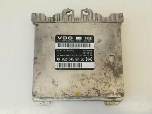 Mercedes Benz C 180 W202 Engine Control Unit 0225458732 04 VDO 412 229018006 K02