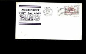 1935 FDC Conneticut Tercentenary Hartford CT