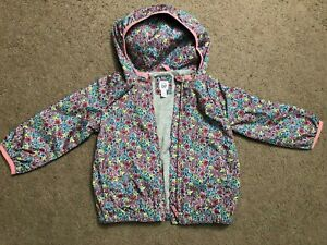 Toddler Girl Size 3 3T Baby Gap Flower Light Weight Windbreaker Jacket