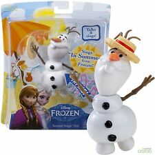 Disney Frozen Movie - Summer Singin Olaf the Snowman Toy Doll - Sings and Talks