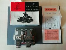 Vintage Kestrel 8mm And 16mm Movie Film Splicer. Excellent Working Condition.