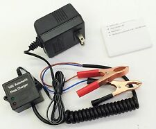 12V Volt Automatic Car Battery Float Trickle Charger Car, Boat. Direct AC Charge