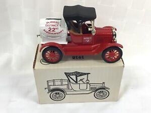 New JIM BEAM car bank, 1918 Barrel Bank By Ertl 1991 Die cast metal, District 1