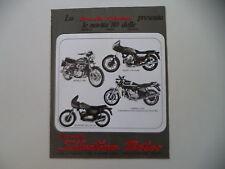 advertising Pubblicità 1980 SILENTIUM e BENELLI 654/125 SPORT/DUCATI 900 SD
