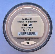 Bare Escentuals Bare Minerals Foundation Fair C10 8g XL ORIGINAL SPF15