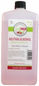 Selma ® Primasprit , Alkohol, Ethanol, Weingeist 96,4%vol.1L (24,95€/1l)