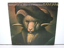 RAM JAM - PORTRAIT OF THE ARTIST AS A YOUNG RAM (EPC 82628) LP VINYL 1978 NL