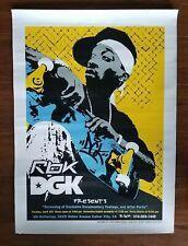 Dgk Dirty Ghetto Kids Stevie Williams Rbk Skateboard Promo Poster 17x24