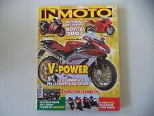 IN MOTO 7/2005 DUCATI 749/MV AGUSTA BRUTALE 910/CAGIVA MITO EV/APRILIA RS 125