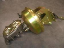 """1958-1964 Full Size Chevy 9"""" Brake Booster + Bail Top Master Cylinder Kit Impala"""