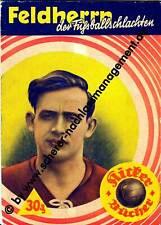 ORIGINAL Heft 1938 KICKER Bücher Feldherrn der Fußballschlachten WW2 Fußball EM