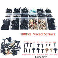 180x Mixed Self-tapping Carbon Steel Screw for SUV Car Bumper Fender Door Panel