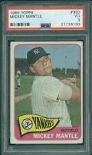 1965 Topps 350 Mickey Mantle PSA 3 (6193)