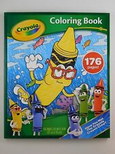 CRAYOLA Bluetiful Crayon Coloring Book - 176 Page Kid's Fun Coloring Book