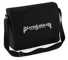 Black Sabbath - Canvass Tasche BESTICKT schwere Qualität