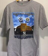 Chelsea FC vs Manchester City FC NY Yankees Stadium Gray T-Shirt Size L Large