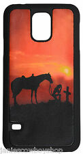 WESTERN 3D CELL PHONE CASE GALAXY S5 PRAYING COWGIRL ACCESSORY RODEO GUNS BOOTS