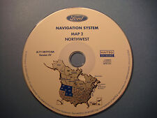Ford Navigation 3V CD Map 2 WA MT OR ID WY UT CO Escape Hybrid Expedition